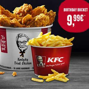 kfc birthday bucket fuer 999e