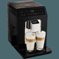 krups ea8908 evidence kaffeevollautomat schwarz edelstahl kegelmahlwerk 2 3 liter wassertank