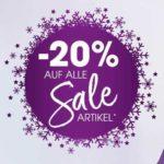 Lascana: 20% Rabatt auf alle Sale-Artikel