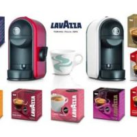 lavazza lm500 minu kapselmaschine inkl tasse kaffekapselstarter set 148 stueck fuer 35e statt 6999e