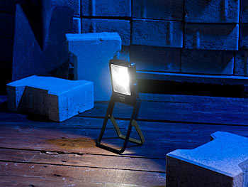 led arbeitsleuchte im baustrahler design mit 3 watt cob led 160 lumen gratis vsk 490 e statt 685 e inkl vsk