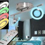 LED Decken Leuchte + Fernbedienung