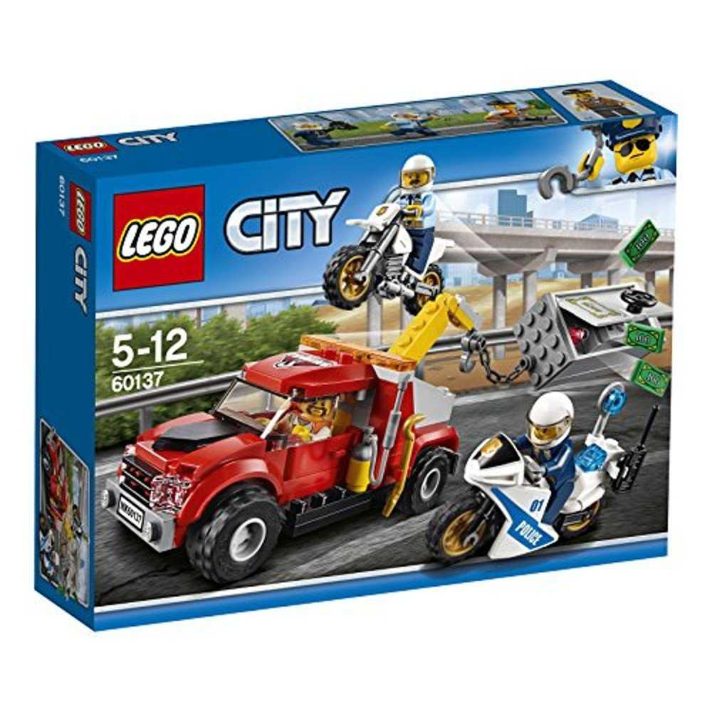lego city 60137 abschleppwagen auf abwegen bausteinspielzeug