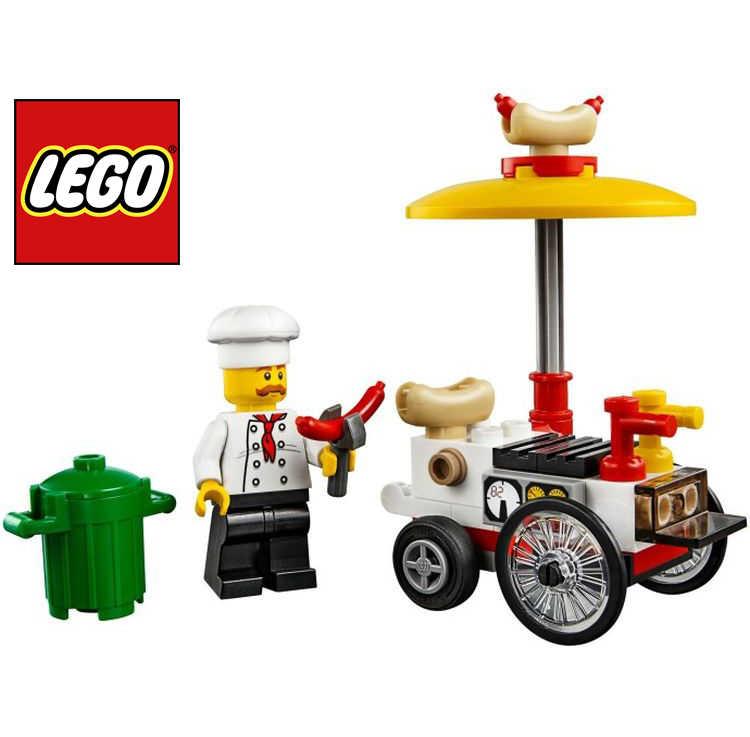 lego city hotdog wagen gratis beim kauf von lego city sets