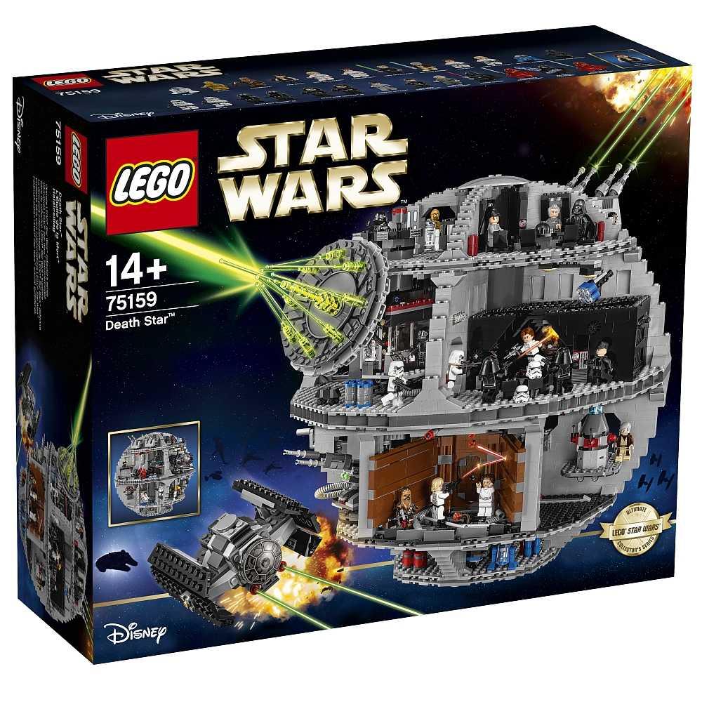 lego star wars 75159 todesstern fuer 399 e inkl versand statt 46625e