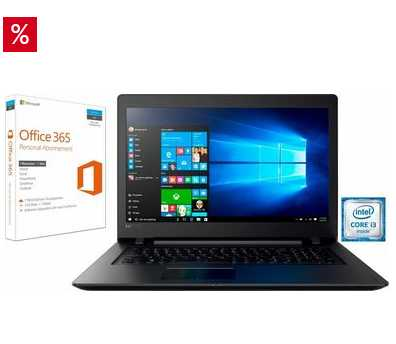 lenovo 110 17ikb notebook 173 zoll office 365 personal fuer 47999e