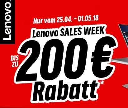 lenovo sales week mit bis zu 200e rabatt