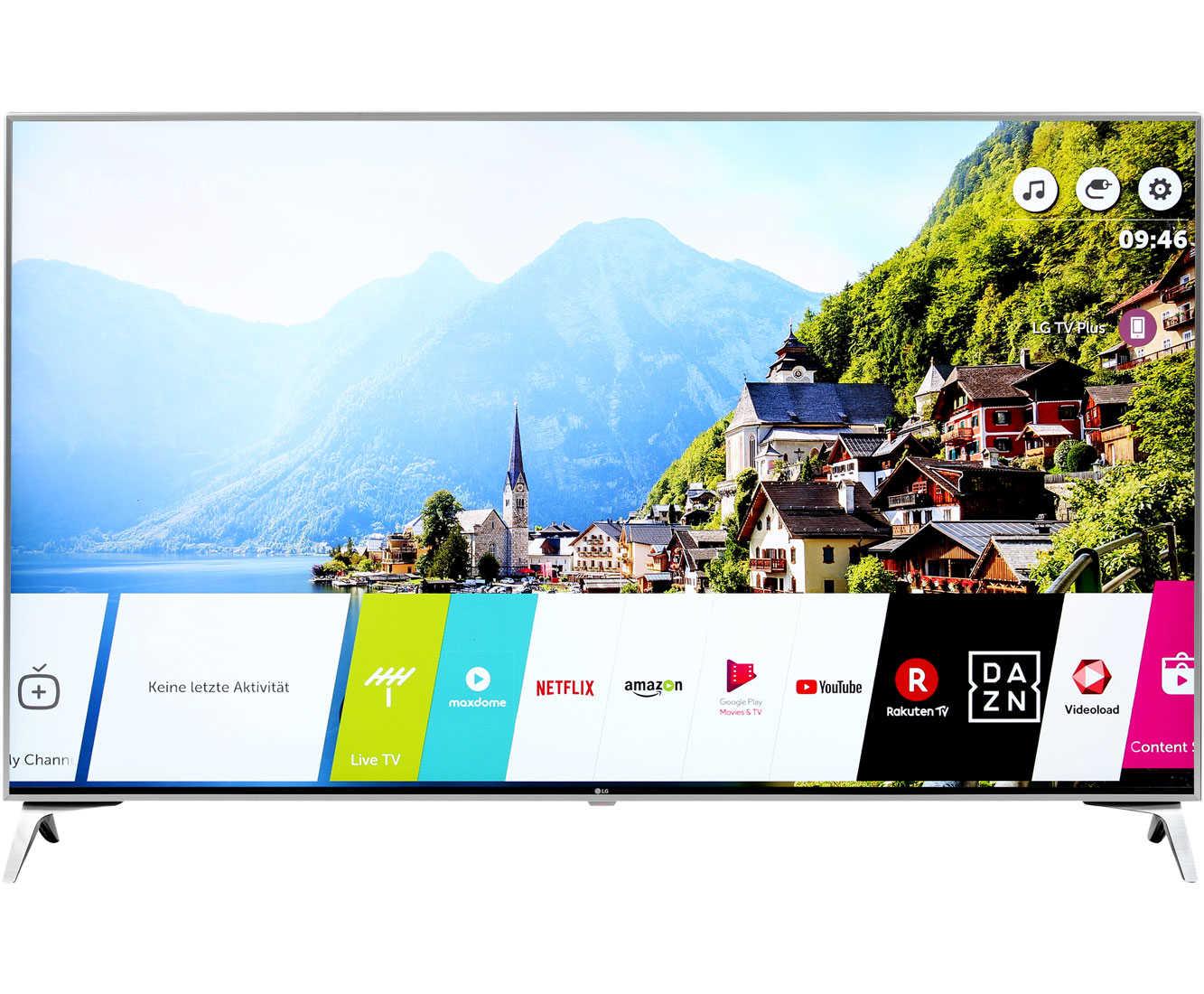 lg 55sj800v 4kuhd led fernseher 139 cm 55 smart tv