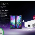 LG G8X Beamer Bundle Promotion - Gratis Mini-Beamer (aktueller Wert 319€) bei Kauf eines LG G8X ThinQ