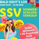 Lidl SSV: ab 18.07.18 bis zu 49% + 5€ Rabatt + VSK frei ab MBW 50€