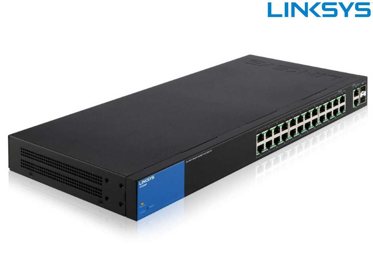 linksys 26 port switch poe 384 w