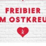 LOKAL / Berlin Ostkreuz: Freibier für alle von Ritter Butzke am 11.07.20