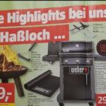 [Lokal / Haßloch] Weber Spirit E-320 Original Black GBS bei Bauhaus Neueröffnung