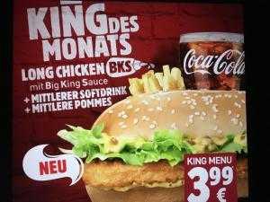 long chicken bks bei bk pommes getraenk fuer e399