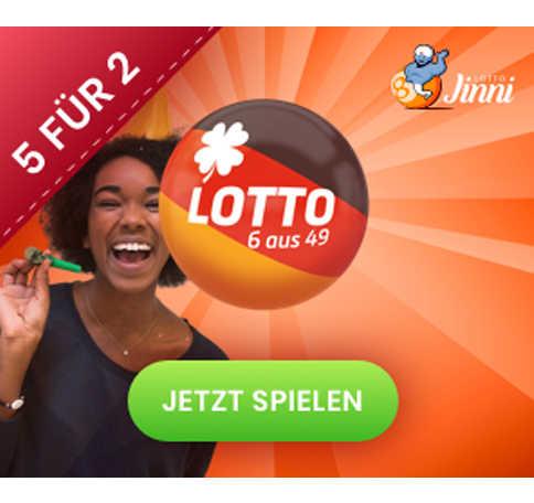 lotto 6aus49 7 mio e 5 felder zum preis von 2 2e jinnilotto neukunden