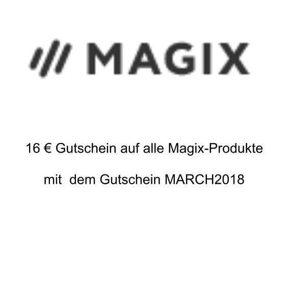 magix 16 e gutschein gueltig auf alle produkte