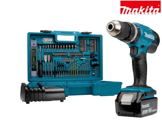 makita 18v akkuschrauber und schlagbohrmaschine