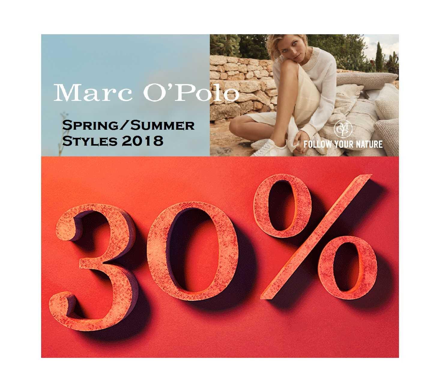 marc opolo springsummer sale bis zu 30 rabatt auf ausgewaehlte artikel