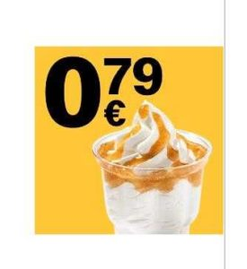 McDonalds App: 1 McSundae nach Wahl für 0,79€