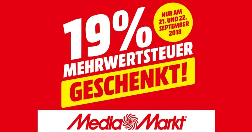 Media Markt Mehrwertsteuer Aktion 2021