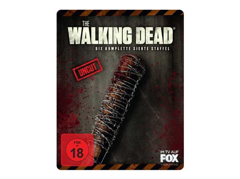 mediamarkt the walking dead staffel 7 steelbook edition blu ray uncut