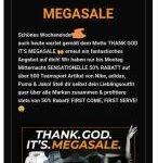 Megasale mit mindestens 50% Rabatt bei Geomix auf über500 Teamsport Artikelvon Nike, adidas, Puma & Jako