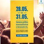 Mehr als 100 Bands Pfingsten kostenlos erleben in Darmstadt