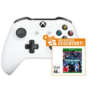 Saturn Flyer-Deals 🔥 z.B. XBox One Controller + Crackdown 3