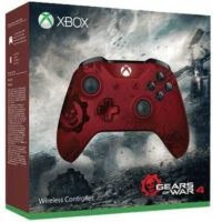 microsoft xbox wireless controller gears of war 4 crimson omen metallic rot fuer 39e statt 55e