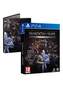 mittelerde schatten des krieges silver edition inkl steelbook forge your army dlc ps4 xbox one fuer je 2252e shopto