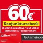 Möbel Höffner: 30€ Rabatt ab 100€ Einkaufswert uvm.