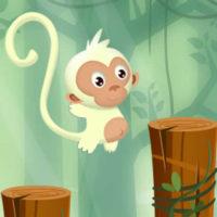monkey jumping keep climbing spiel ios