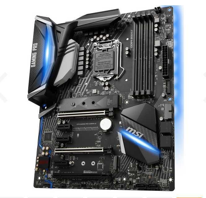 msi z370 gaming pro carbon ac mainboard intel sockel 1151