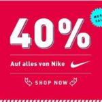 Mysportswear: 40% auf alle Nike Artikel!