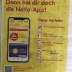 Netto App: 5€ Gutschein ab 30€ für jede Neu-Registrierung