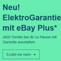 neu in ebay plus gratis elektrogarantie 1