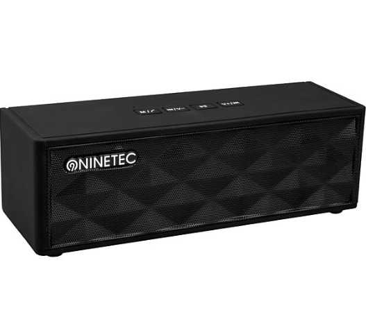 ninetec powerblaster plus bluetooth nfc speaker fuer 1999e