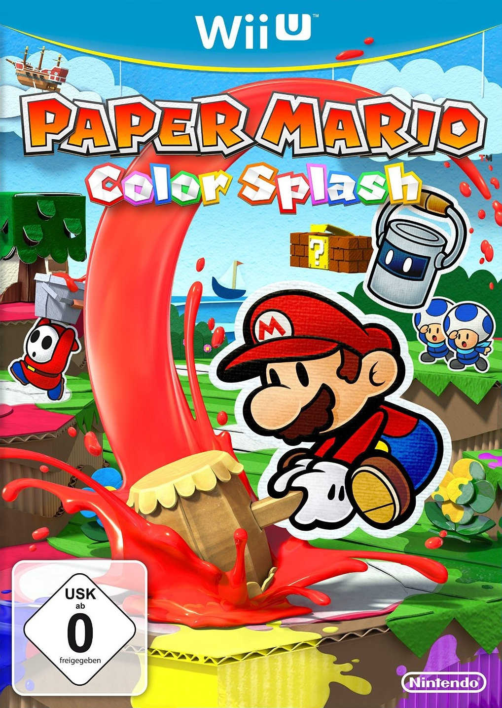 nintendo wii u paper mario color splash fuer 17 e inkl versand statt 2899e