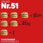 """*Nur am 22.02."""" Big Mac für 1 € mit der McDonalds App"""