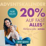 Nur heute: 20% Rabatt auf fast Alles bei Galeria-Karstadt-Kaufhof
