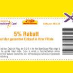Netto: heute 5% mit Deutschland Card