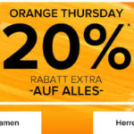 Nur heute: dress-for-less 20% Rabatt auf Alles!