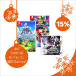 Müller-Adventskalender: 15 % Rabatt auf Switch & Nintendo 3DS Games