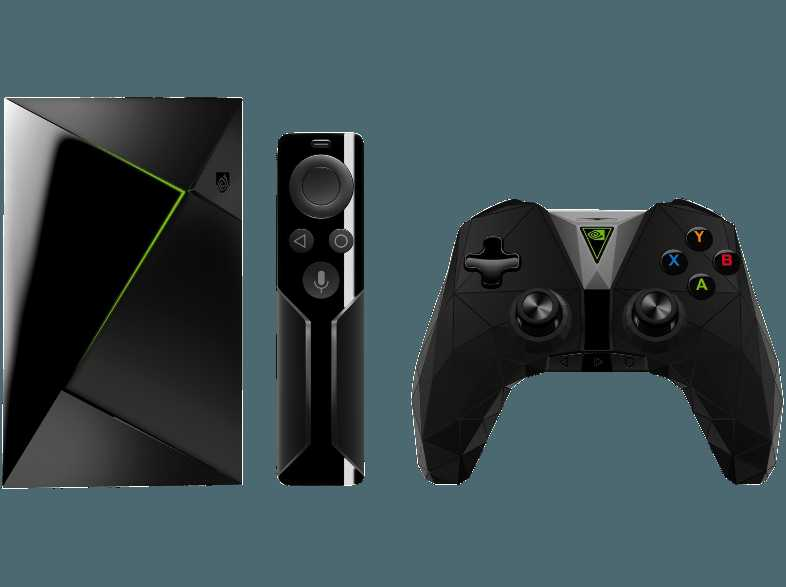 nvidia shield tv media streaming player inkl fernbedienung fuer 149e mit controller fuer 188e