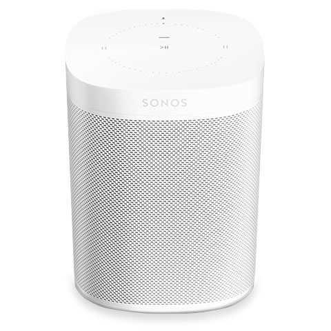 Sonos One Gen2 🔉 Smart Speaker mit WLAN, Sprachsteuerung & mehr
