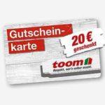 Offline: 20€ Gutscheinkarte geschenkt (je 100€ Einkaufswert)