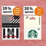[Offline] Rewe: Bis 20% Rabatt auf ausgewählte Geschenkkarten