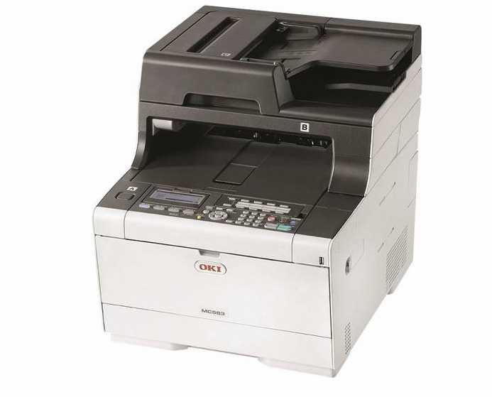 oki a4 farblaser multifunktionsdrucker mc563dn fuer 23795e inkl versand statt 3452e