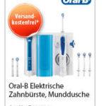 Oral-B Zahnbürste, Munddusche Pro 2000 + OxyJet Mundpflege Center