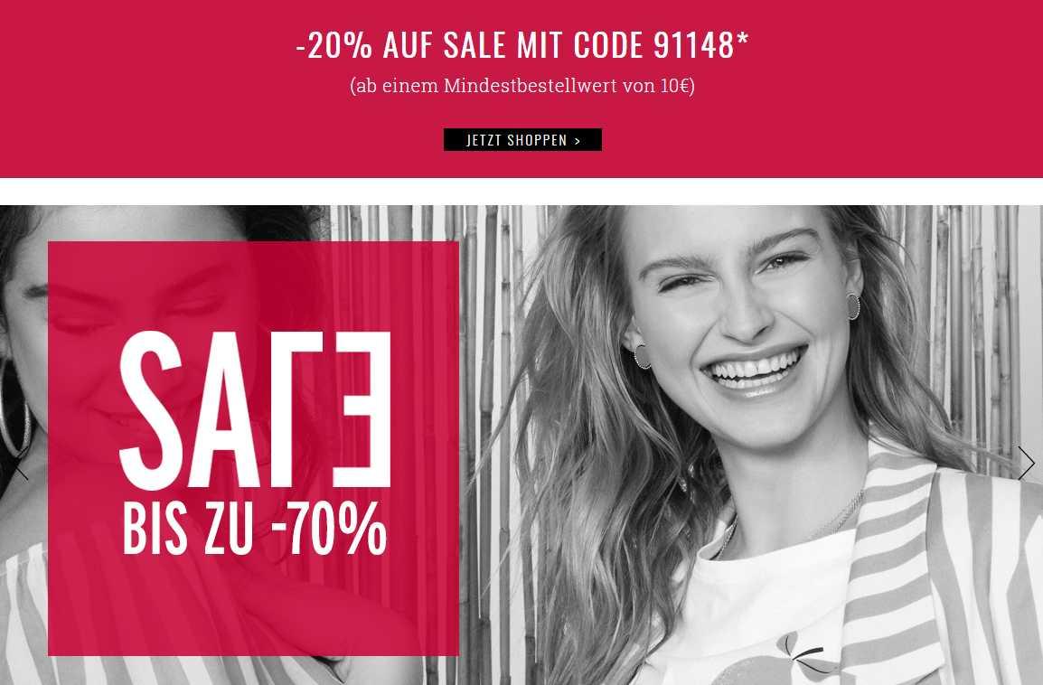 Orsay - bis 70% im Sale zzgl. 20% mit Code